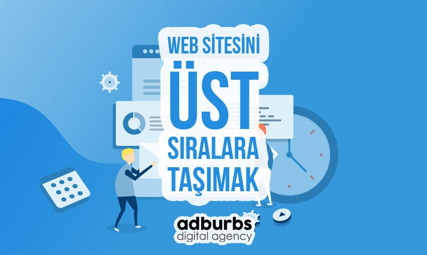 Web Sitesini Üst Sıralara Taşımak